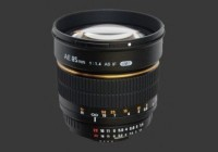 Samyang 85mm F/1.4 IF MC Asph AE